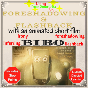 Flashback/Foreshadowing with an Animated Short Film