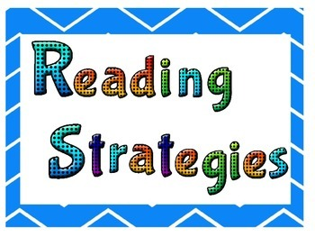 Reading Strategies~Chevron