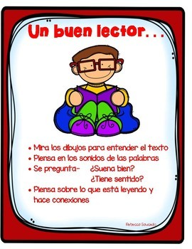 Reading Strategies/Estrategias de Lectura Bilingues(ENGLISH/SPANISH)