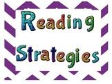 Reading Strategies~More Chevron
