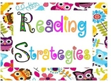 Reading Strategies~Owl Themed