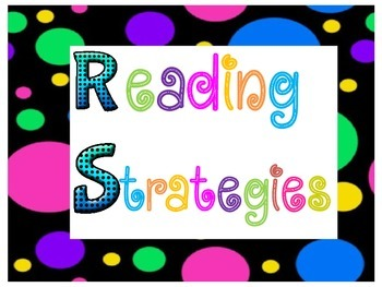 Reading Strategies~Polka Dots