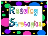 Reading Strategies~Polka Dots