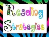 Reading Strategies~Zebra Rock Star