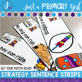 Reading Strategy Activities Get Your Mouth Ready