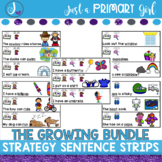Reading Strategy Activities the GROWING Bundle