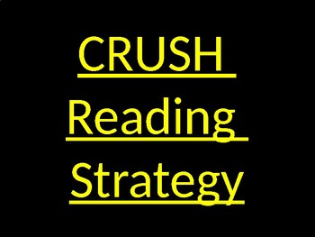 You Gotta Try this Reading Strategy Activity. It works!!!