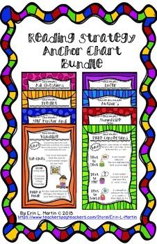 Reading Strategy Anchor Chart Bundle