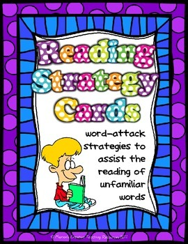 Reading Strategy Anchor Chart Set {display & small set included}