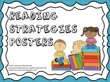 Reading Strategy Anchor Posters