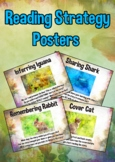 Reading Strategy Animal Card Posters : inferring, predicting and more