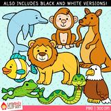Reading Strategy Animals Clip Art
