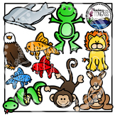 Reading Strategy Animals Clipart