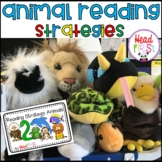 Reading Strategy Animals Posters Book Worksheets for Guided Reading