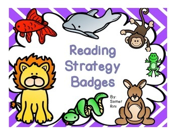 Reading Strategy Badges