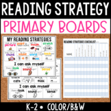 Reading Strategy Boards {Primary}