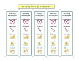 Reading Strategy Decoding Bookmark