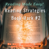 Reading Strategy Bookmarks #2
