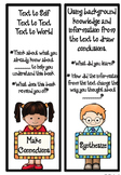 Reading Strategy Bookmarks - Each Bookmark has guiding questions!