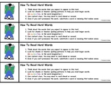 Reading Strategy Bookmarks (Upper Elementary Students)