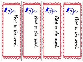 Reading Strategy Bookmarks for home reading