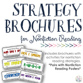Reading Strategy Brochures {Nonfiction}