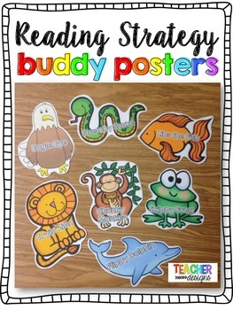 Reading Strategy Buddy Posters