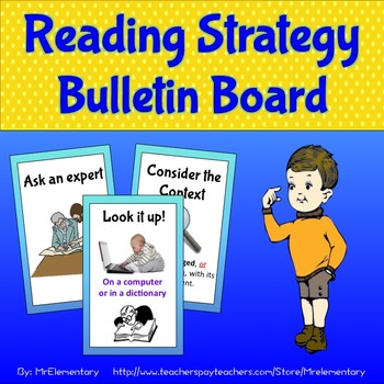 Reading Strategy Bulletin Board