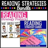 Reading Strategy Posters Bundle | Reading Strategies