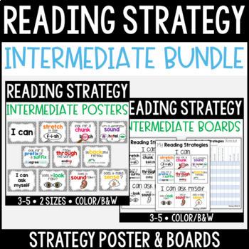 Reading Strategy Bundle {Intermediate}