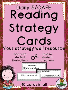 Reading Strategy Cards