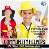 Community Helpers Social Studies & ELAR Unit for K-1