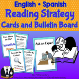 Reading Strategies Trading Card Activity and Posters