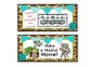 Reading Strategy Cards and Tools Animal Print {A Comprehension Focus}