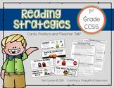 Reading Strategy Cards for 1st Grade Reader's Workshop