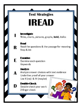 Reading Strategy Chart