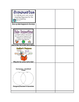Reading Strategy Checklist for ALL AGES