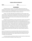Reading Strategy Compare and Contrast Assessment 2