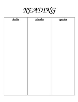 Reading Strategy Comprehension Mats