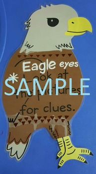 Reading Strategy: Eagle Eyes Poster