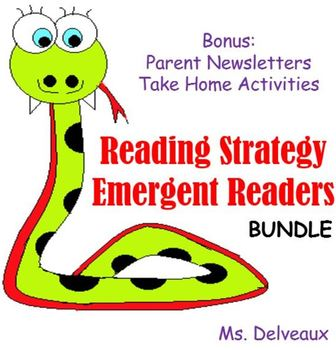 Reading Strategy Emergent Reader Bundle