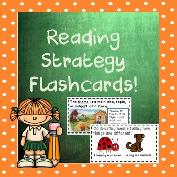 Reading Strategy Flashcards!