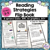 Reading Strategy Flip Book - Student Reading Strategies Flip Book