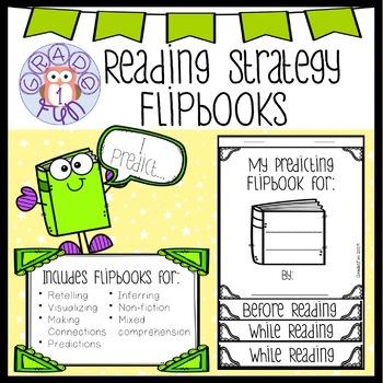 Reading Strategy Flipbooks