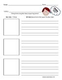 Reading Strategy Graphic Organizer - Main Idea