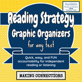 Reading Strategy Graphic Organizer: Making Connections