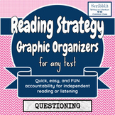 Reading Strategy Graphic Organizer: Questioning