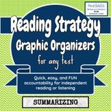 Reading Strategy Graphic Organizer: Summarizing