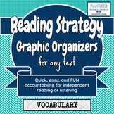 Reading Strategy Graphic Organizer: Vocabulary Finder