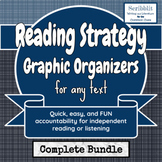 Reading Strategy Graphic Organizers for any Text
